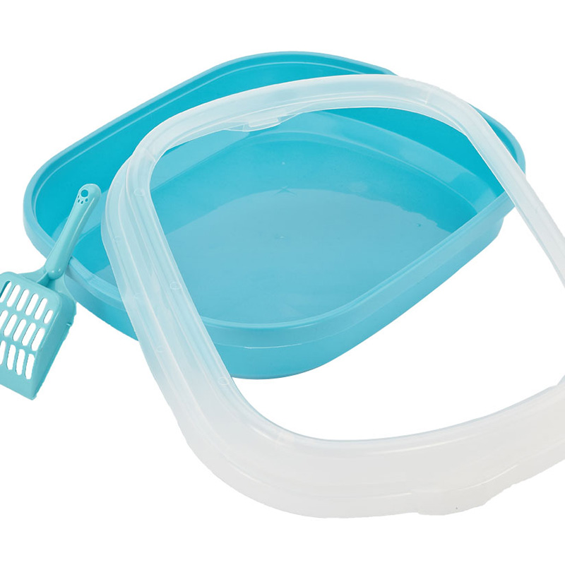 CF-S Transparent Cat Litter Tray