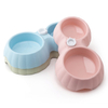 Wholesale Plastic Non-Slip Double Dog Feeding Bowl