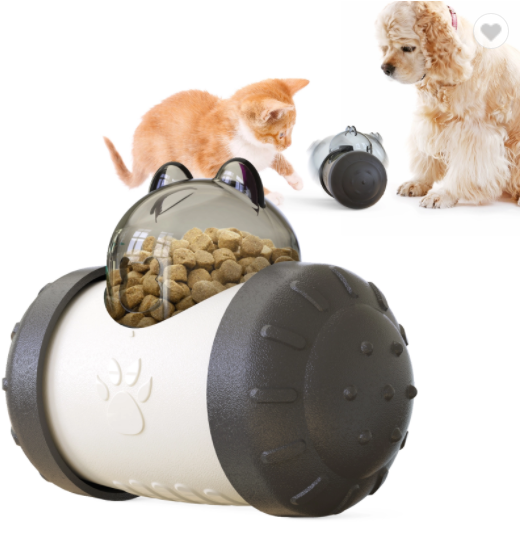 Factory Supply Pet Products Dog Puzzle Toy Food Dispenser Slow Feeder Ball Interactive Dog Cat Toy Dog Treat Ball Toy